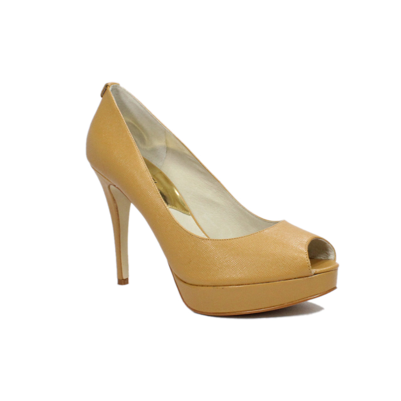 Michael Kors Women's York Platform Peep-Toe Pumps
