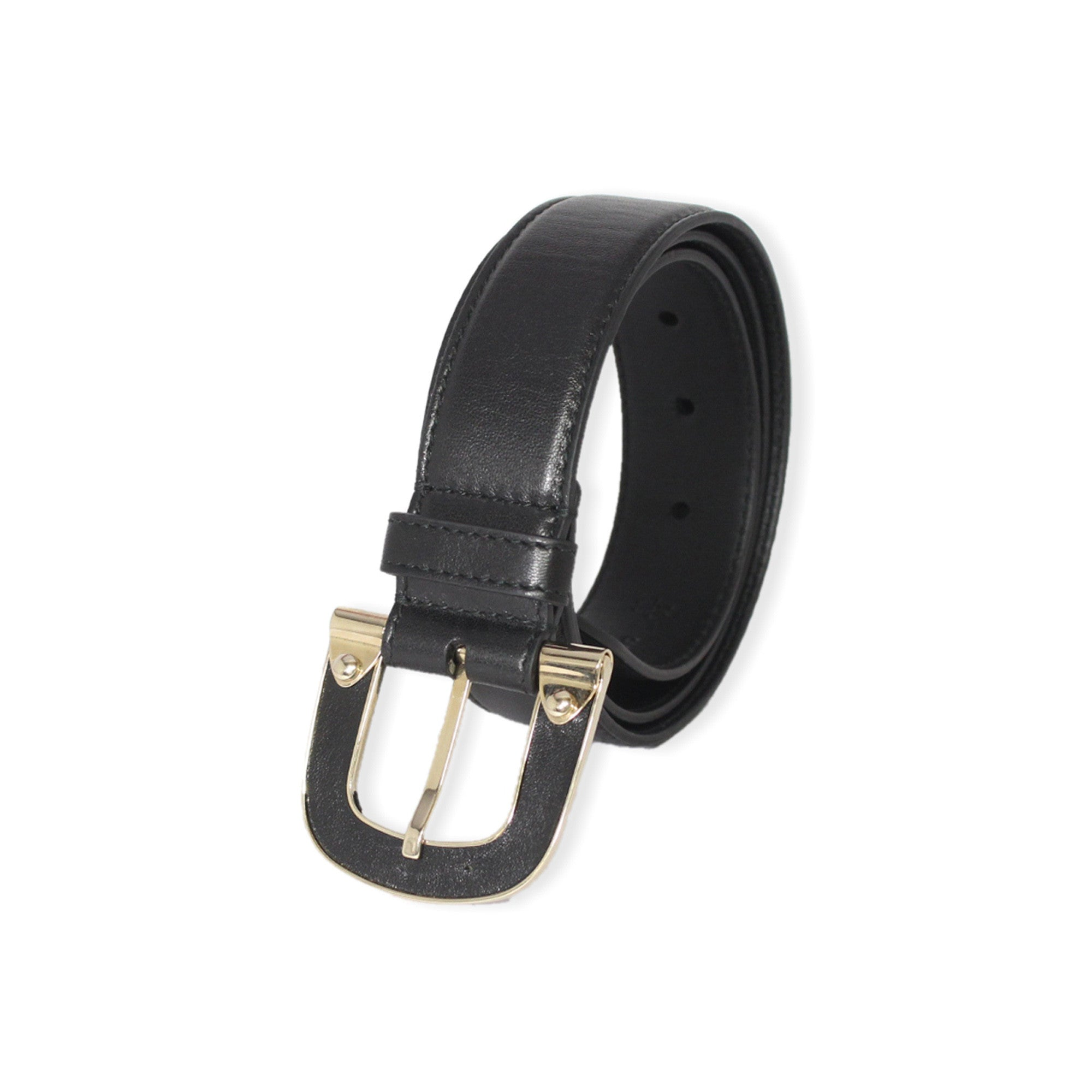 Bally Cacao Calfskin Nappa Leather Adjustable Women's Belt