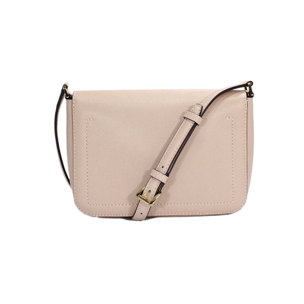 Michael Kors Greenwich Flap Leather Crossbody Bag