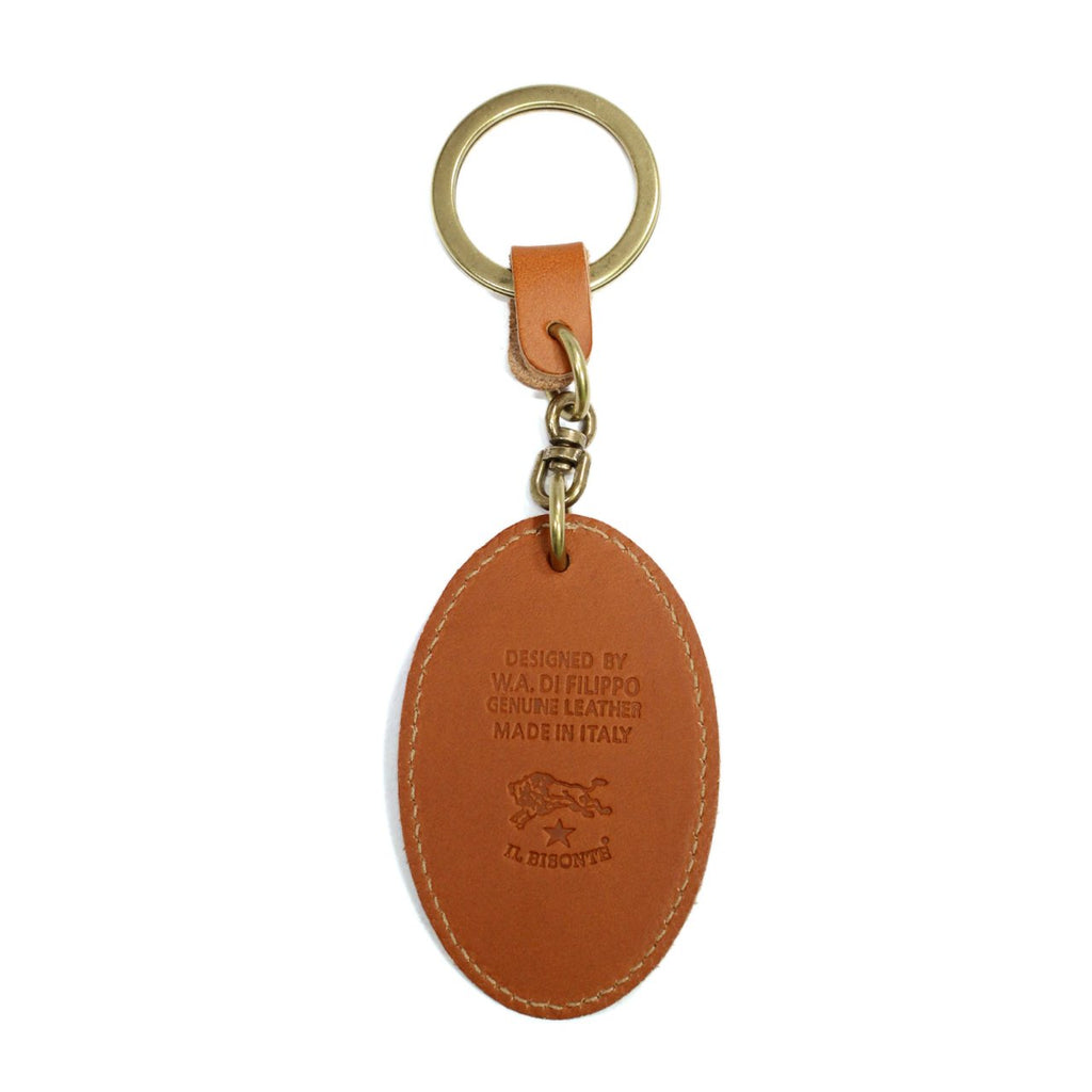 Il Bisonte Leather Keyring