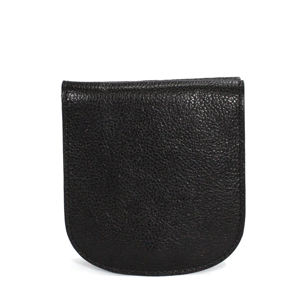 Il Bisonte Coin Purse In Textured Vacchetta Leather