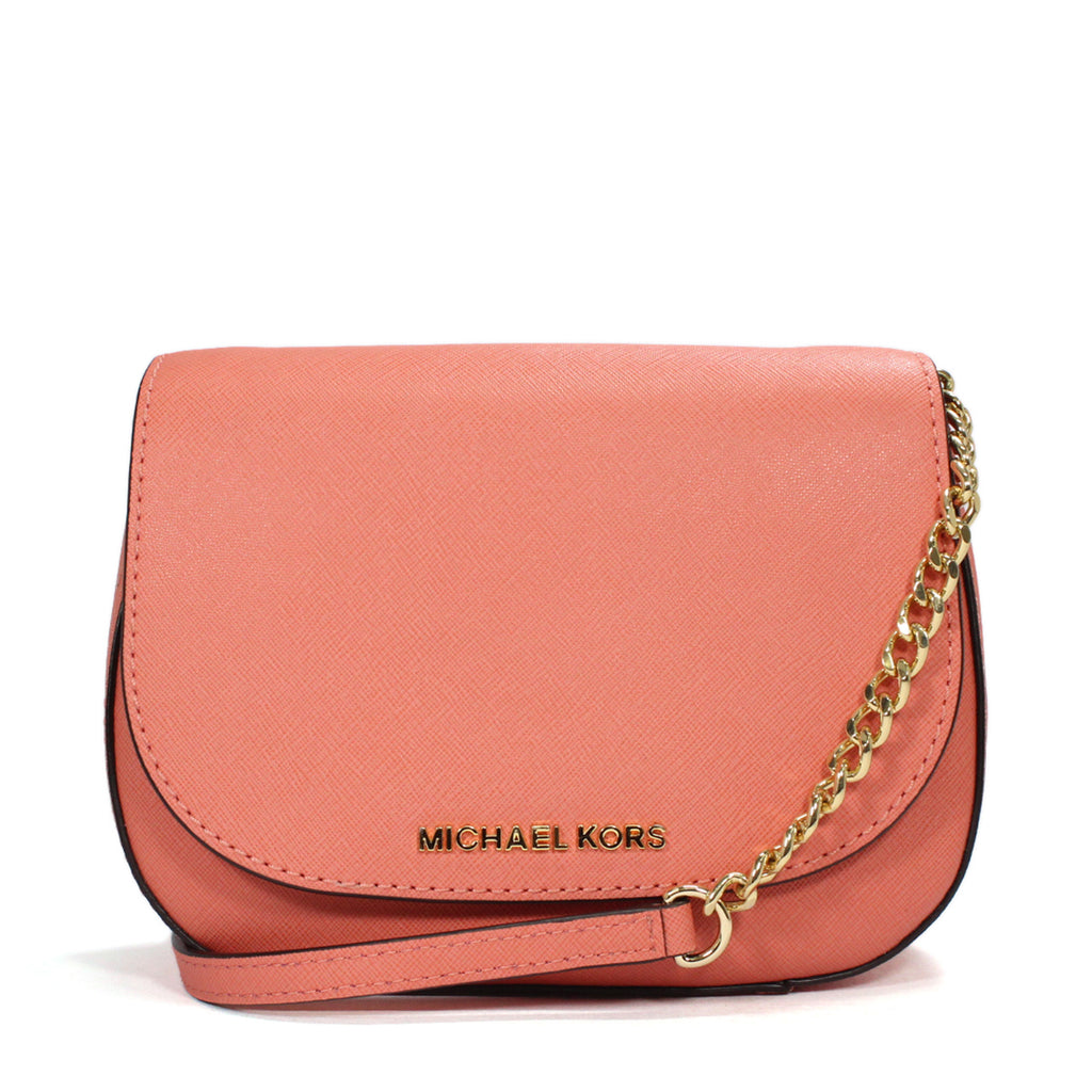 0f5199ed109f Michael Kors Cross-Body Jet Set Pink Grapefruit Travel Bag ...