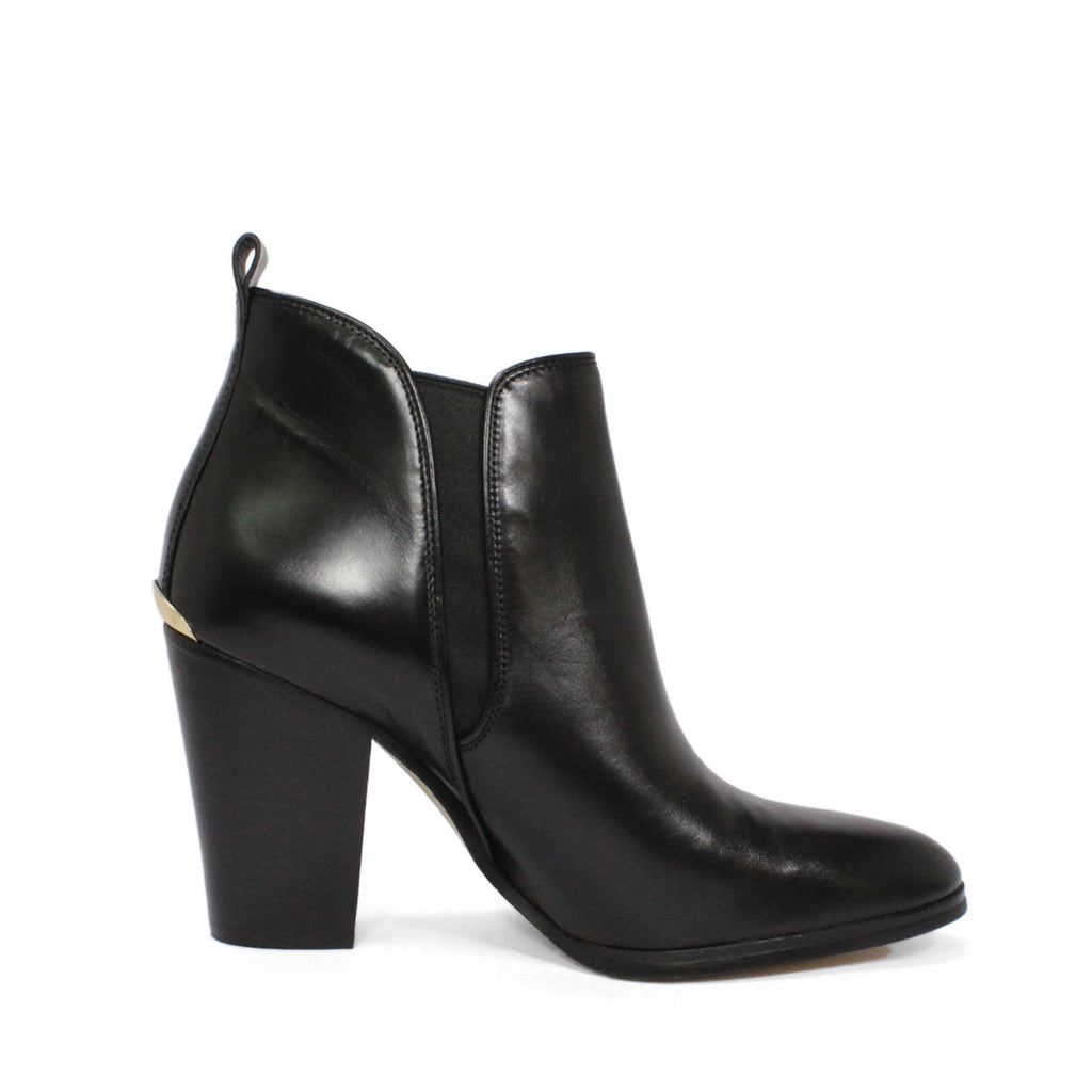 Michael Kors Brandy Chunky High-Heel Ankle Boots