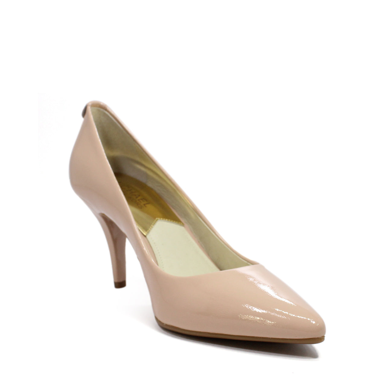 Michael Kors Decollete Flex Patent Leather Mid-Heel Pumps