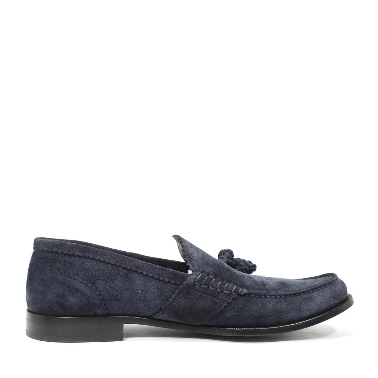 Bally Femanis Men's Espadrille Style Tassel Moccasins