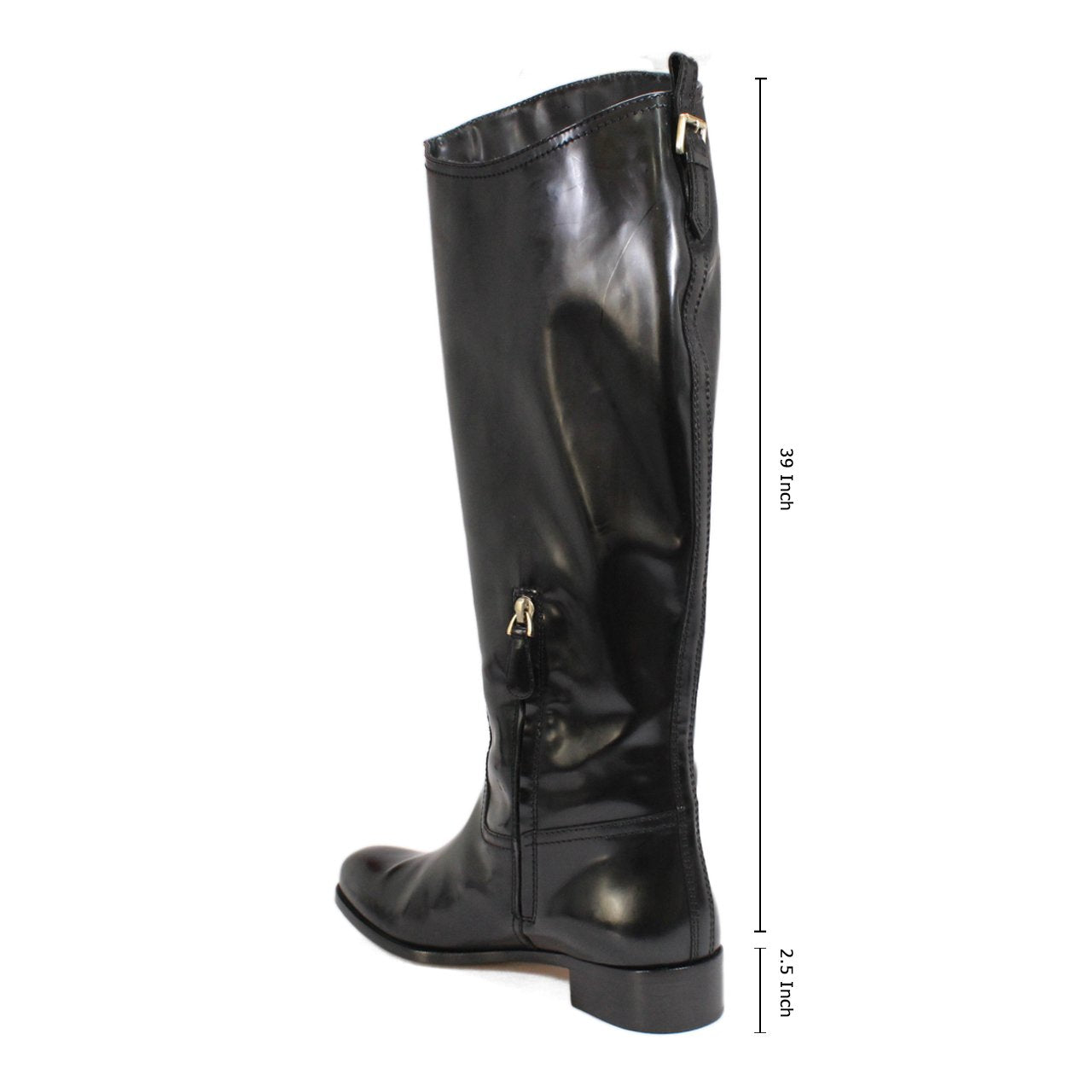 Bally Elenora Women's Knee-High Derby Riding Boots