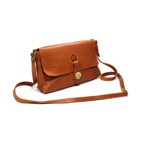 Il Bisonte Leather Crossbody Bag