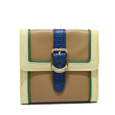 Bally Rexas Small Designer Women's Buckle Wallet