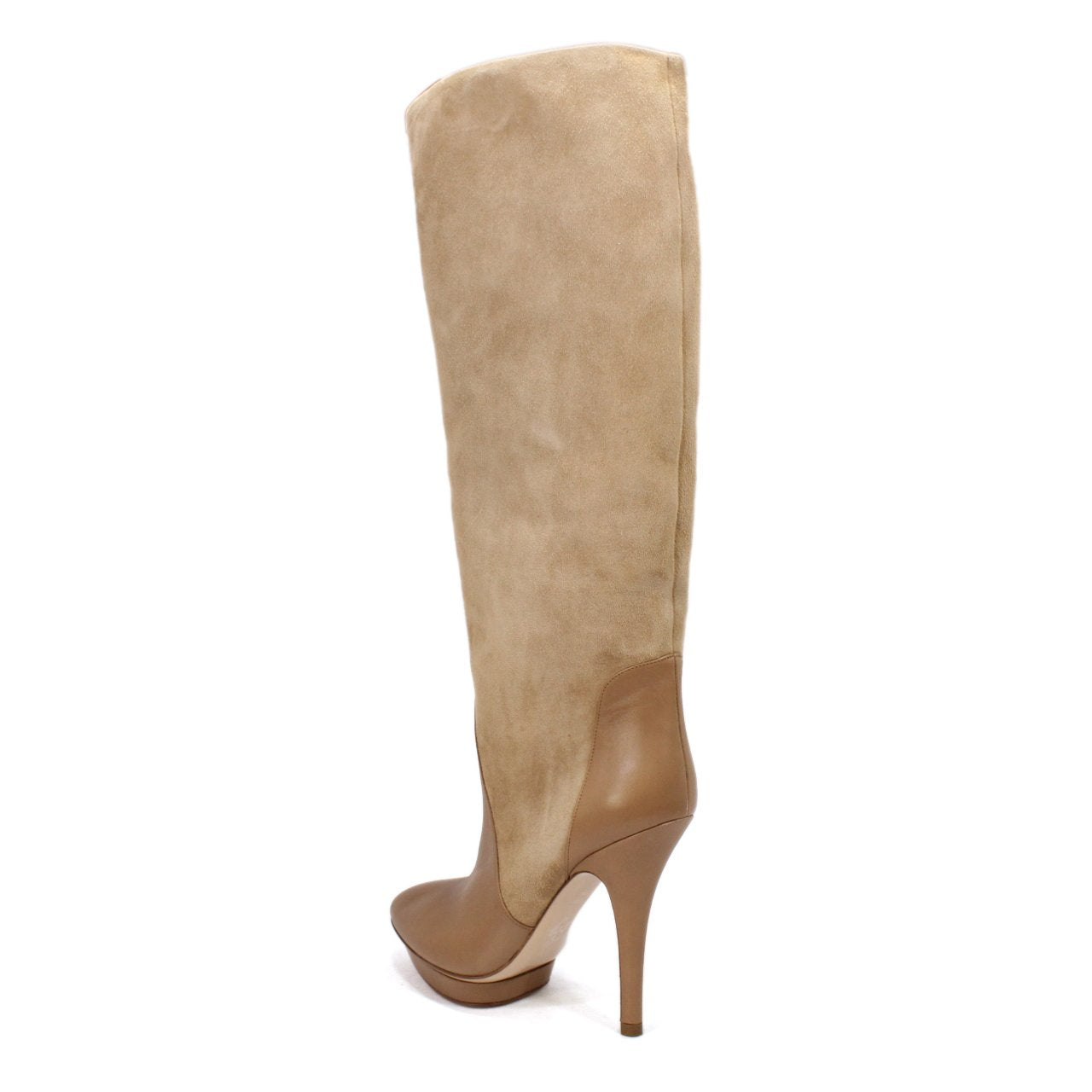 Bally Suana Women's Knee-High Platform Stiletto Heel Boots In Hazel