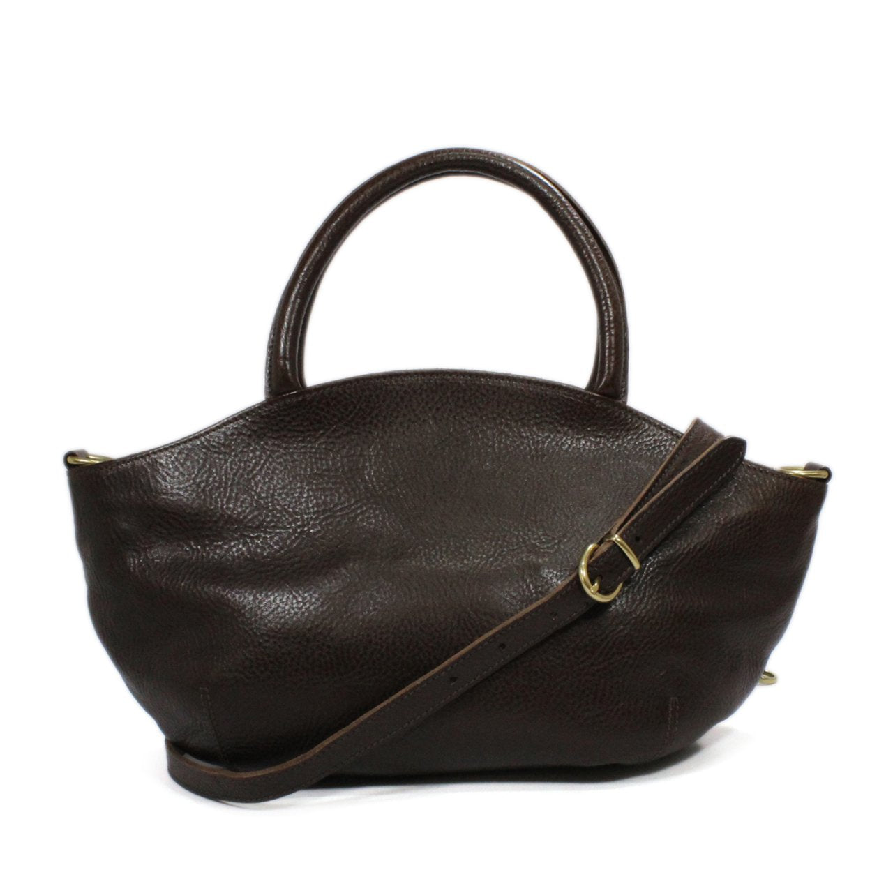 Il Bisonte Two-Way Leather Satchel