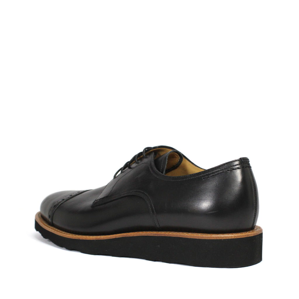 Bally Michy Lace-Up Quarter Brogue Derby Shoes