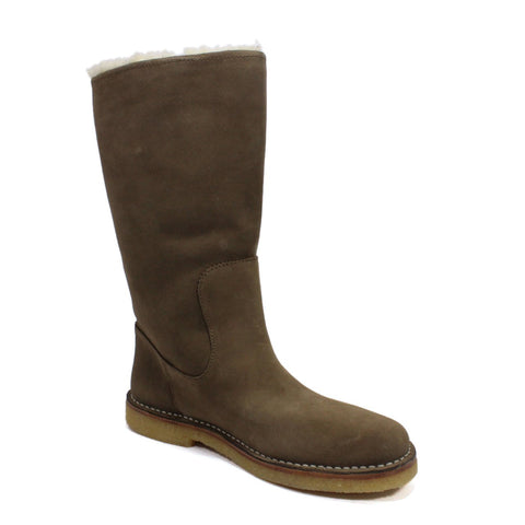 Bally Kander Women's Wellington Boots In Suede