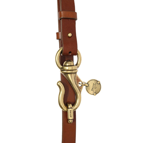 Bally Flon Womens Leather Waist Belt