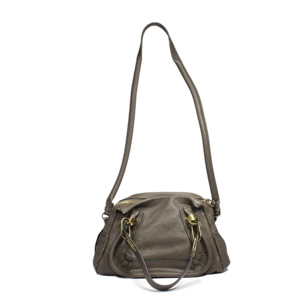 Chloe Party Two-Way Leather Satchel