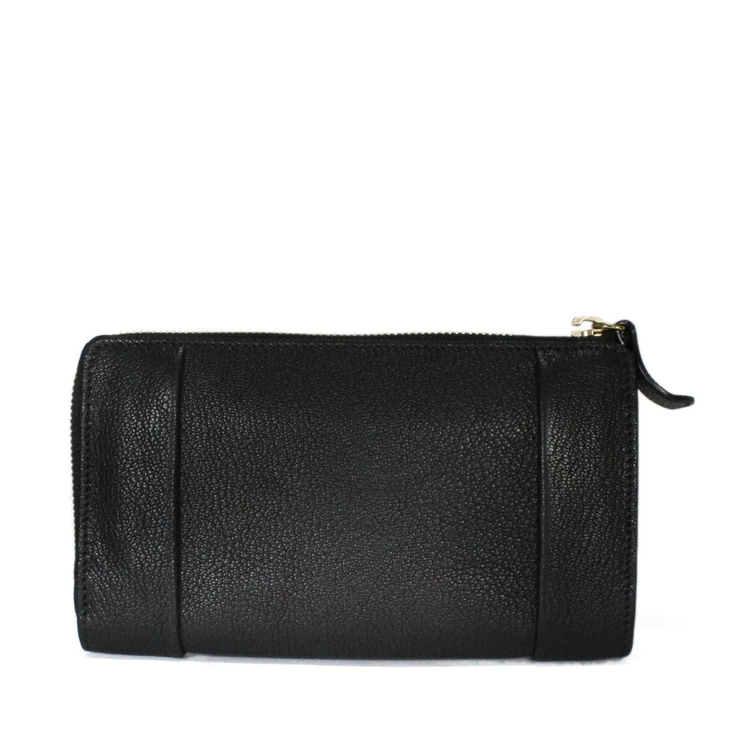 Chloe Elsie Textured Leather Continental Wallet
