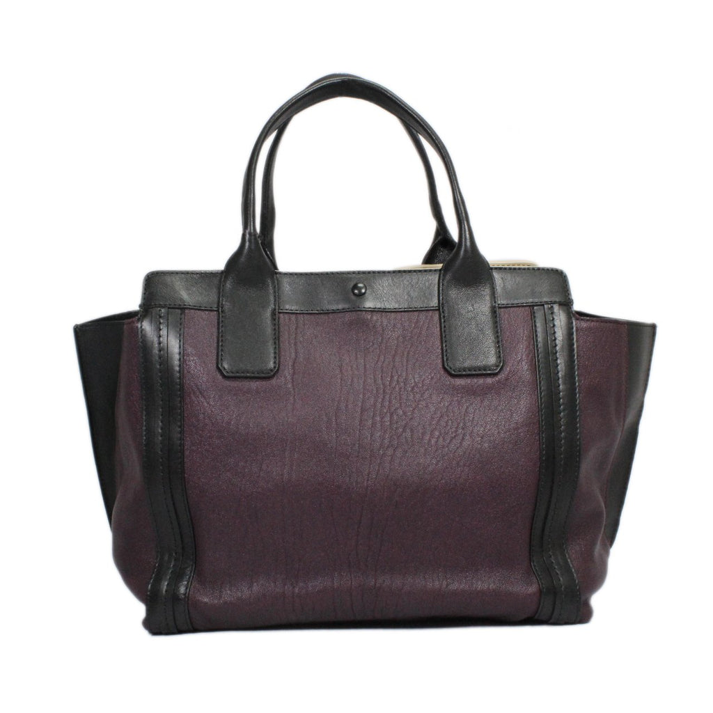 Chloe Alison Shopper Leather East/West Tote Bag