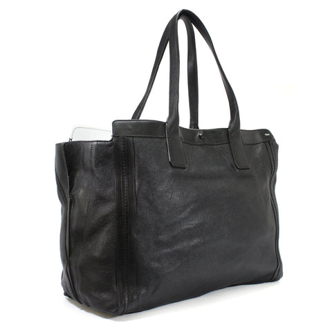 Chloe Alison Shopper Black Leather East/West Tote Bag