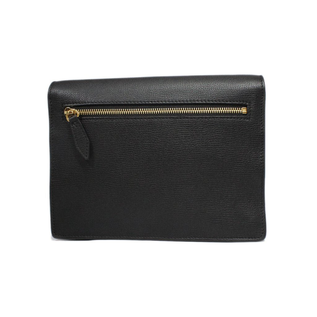 Burberry House Check Derby Macken Small Cross-Body Bag