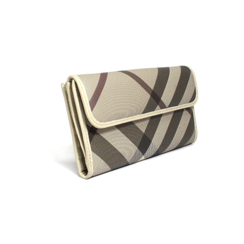 Burberry Bali Smoked Check Long T Wallet
