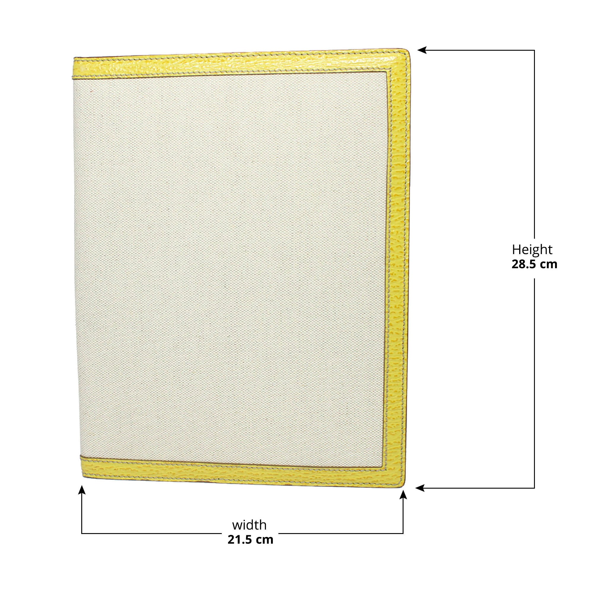 Bally Roma Beige Canvas Document Holder