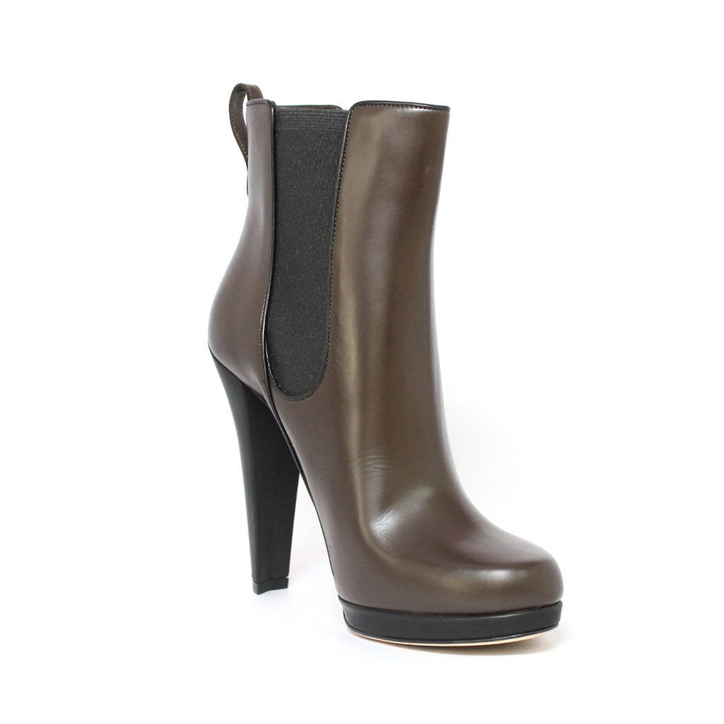 Bally Dorsilla Women's Ankle Chocolate Chelsea Boot