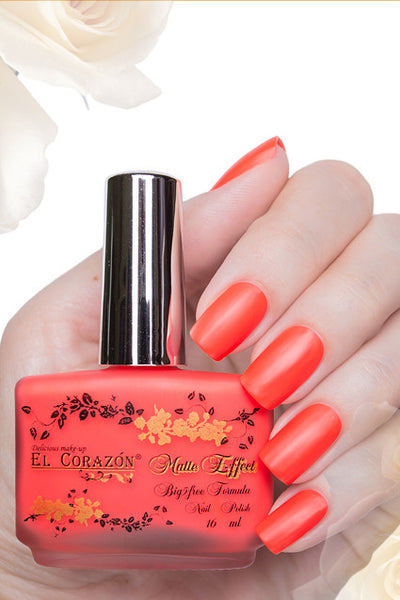 El Corazon Nail Polish Matte Effect Neon No.143 16 ml