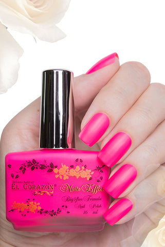 El Corazon Nail Polish Matte Effect Neon No.144 16 ml