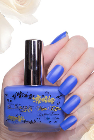 El Corazon Nail Polish Matte Effect Neon No.146 16 ml