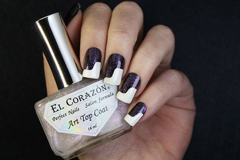 "El Corazon Decorative Top Coat ""Art Top Coat"" No. 421/27 Japanese Sakura 16 ml"
