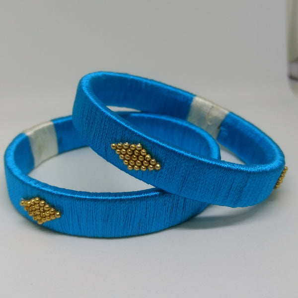 Customized Silk Thread Bangle