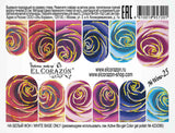 El Corazon Water decals No. Wow-25