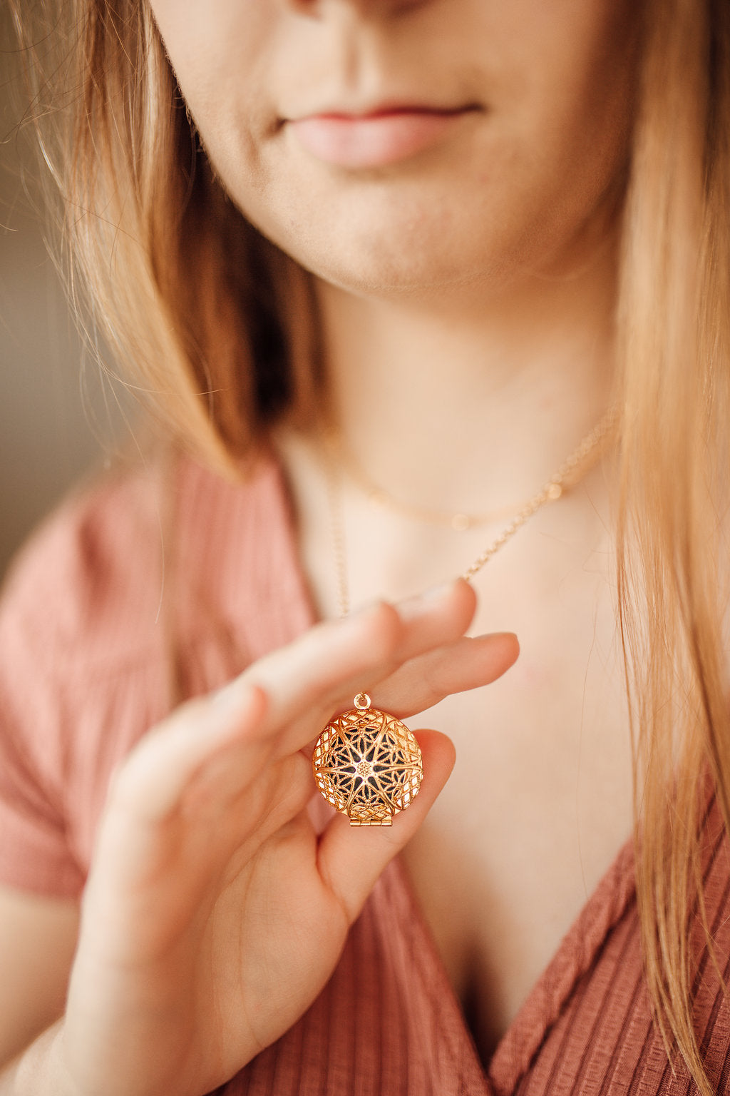 Libra constellation locket