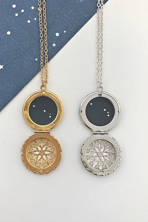 Aries constellation locket