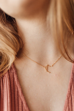 Libra mini constellation necklace