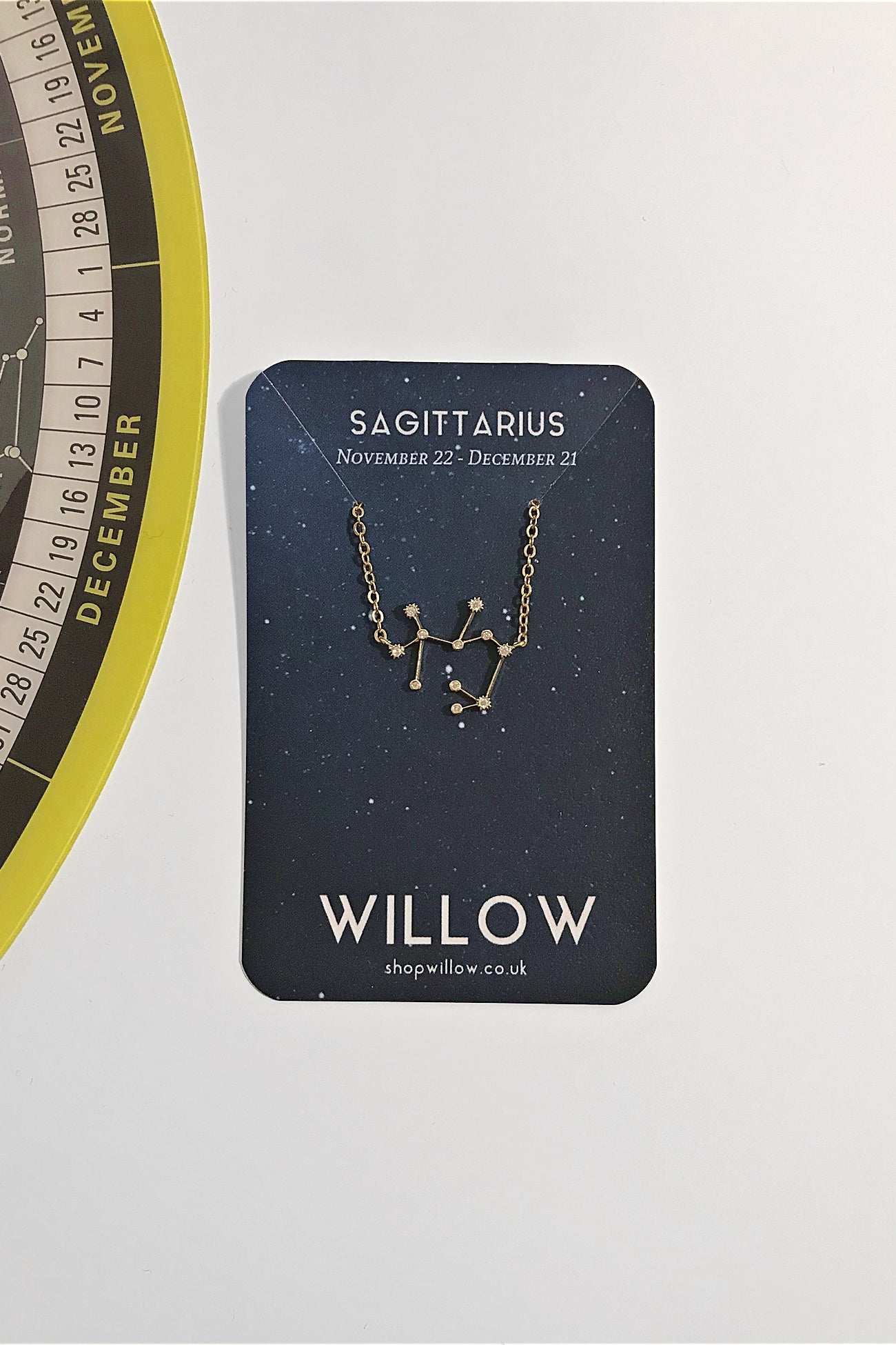 Sagittarius mini constellation necklace