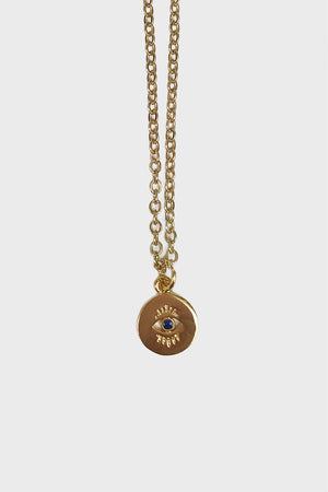 Mini evil eye necklace