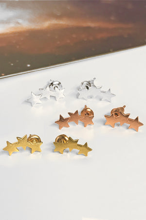 Stardust stud earrings