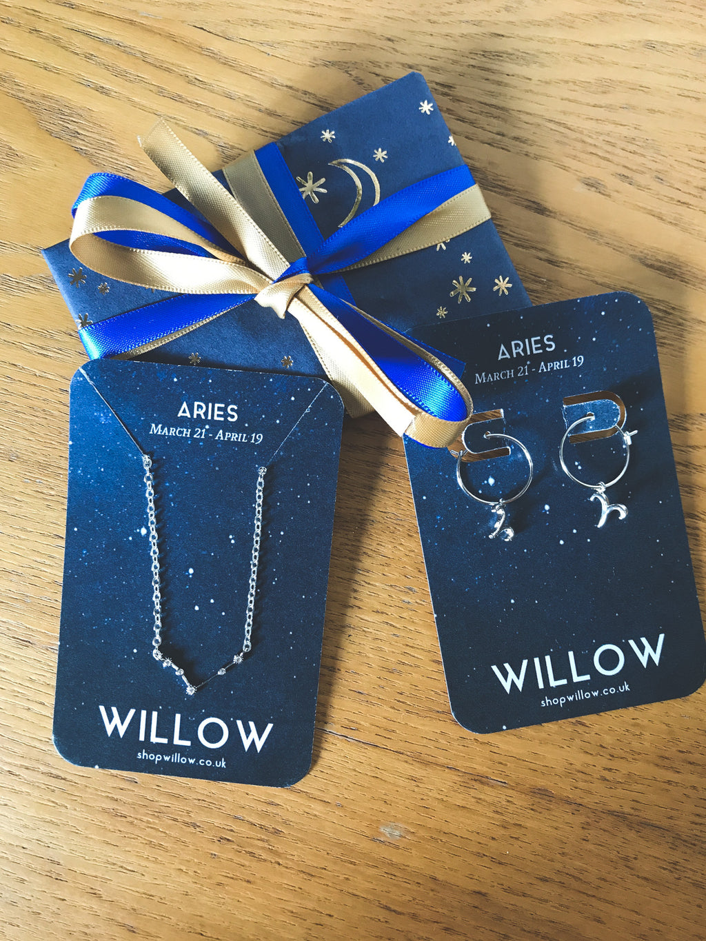 Zodiac Constellation star sign gift set
