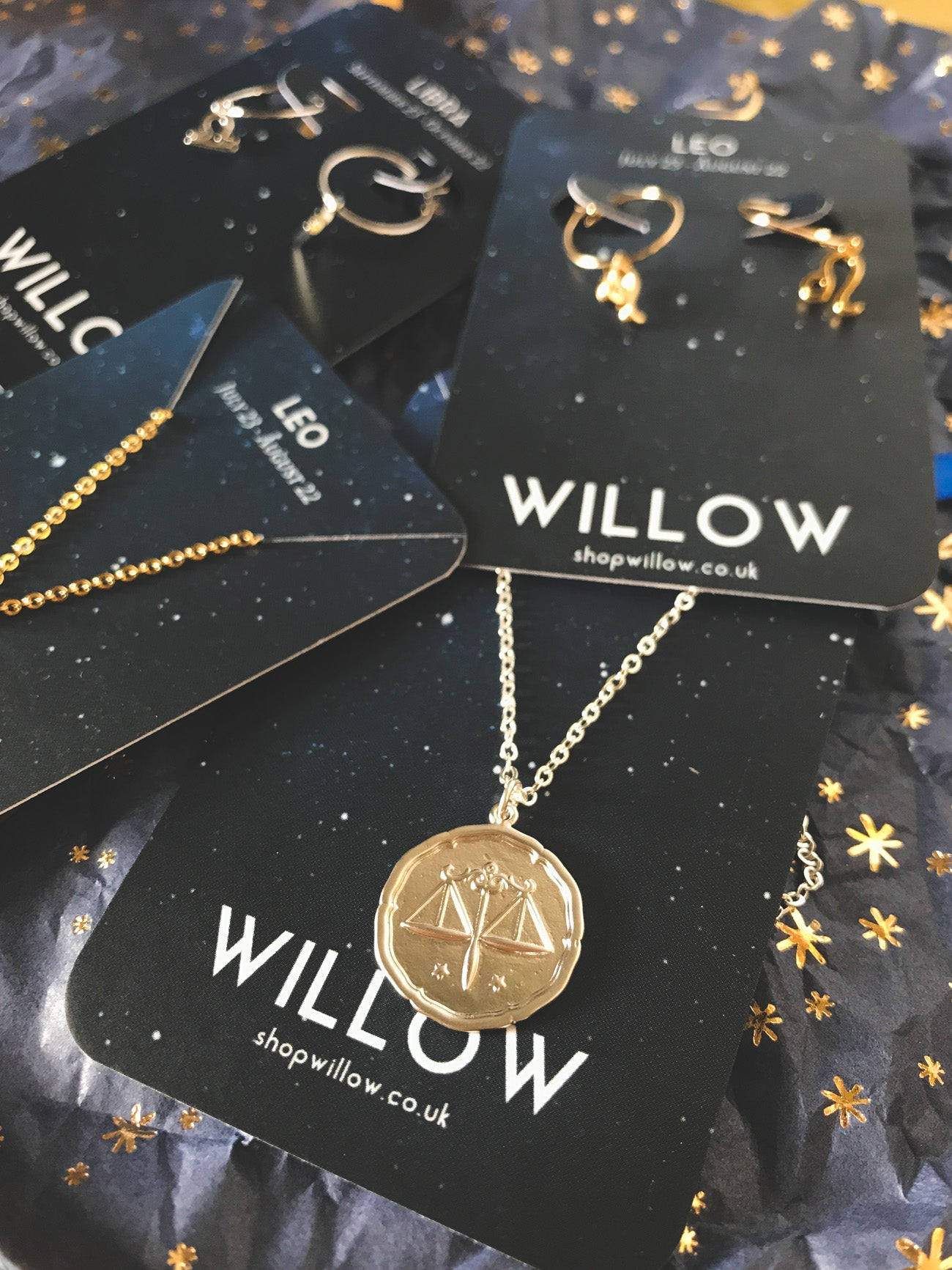 Zodiac Symbol star sign gift set