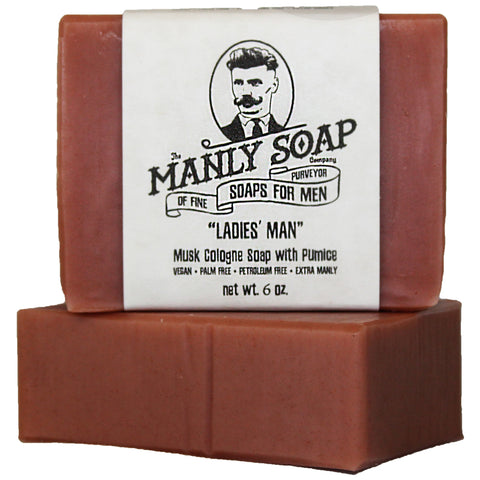 LADIES' MAN - Musk Cologne Soap with Pumice