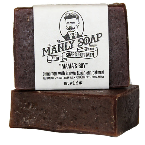 MAMA'S BOY - Cinnamon Soap with Brown Sugar and Oatmeal