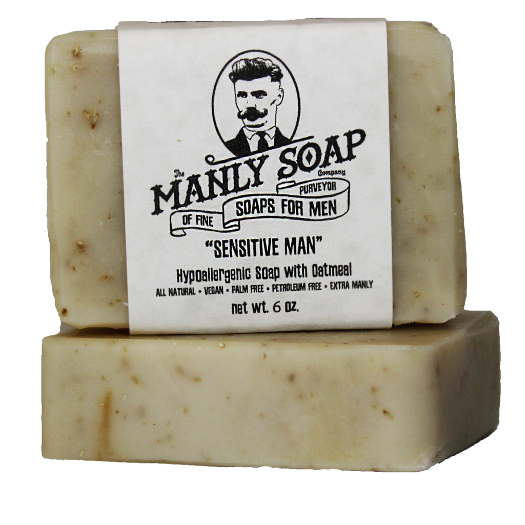 SENSITIVE MAN - Hypoallergenic Soap with Oatmeal