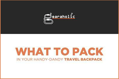 What To Pack In Your Handy-Dandy Travel Backpack?