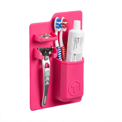 Tooletries-Mighty Toothbrush Holder-Packing Organizer-Tooletries Pink-Gearaholic.com.sg