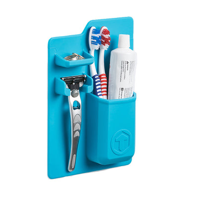 Tooletries-Mighty Toothbrush Holder-Packing Organizer-Tooletries Blue-Gearaholic.com.sg