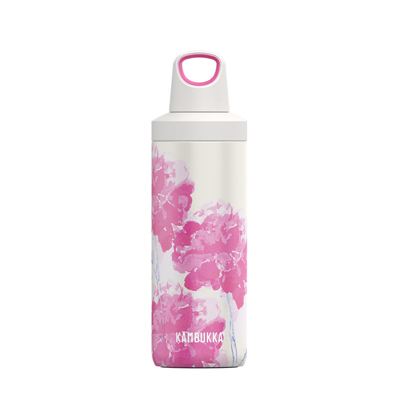 Kambukka-Reno Insulated 500ml-Vacuum Bottle-Pink Blossom-Gearaholic.com.sg
