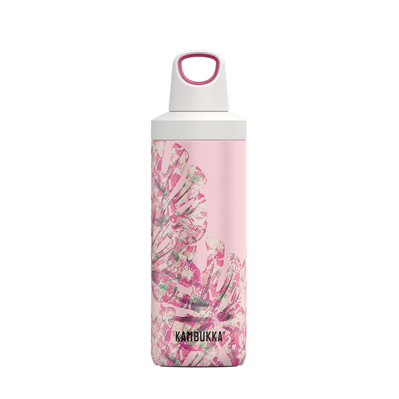 Kambukka-Reno Insulated 500ml-Vacuum Bottle-Monstera Leaves-Gearaholic.com.sg