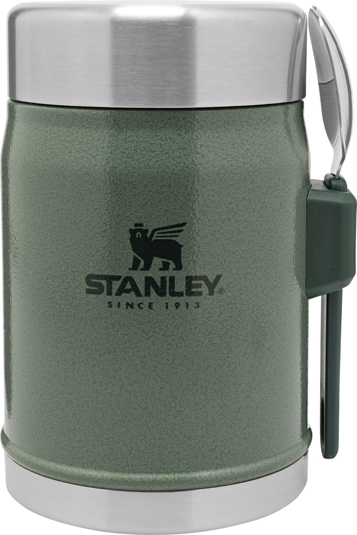 Stanley-Classic Series Vacuum Food Jar 400ml-Vacuum Food Jar-Hammertone Green-Gearaholic.com.sg