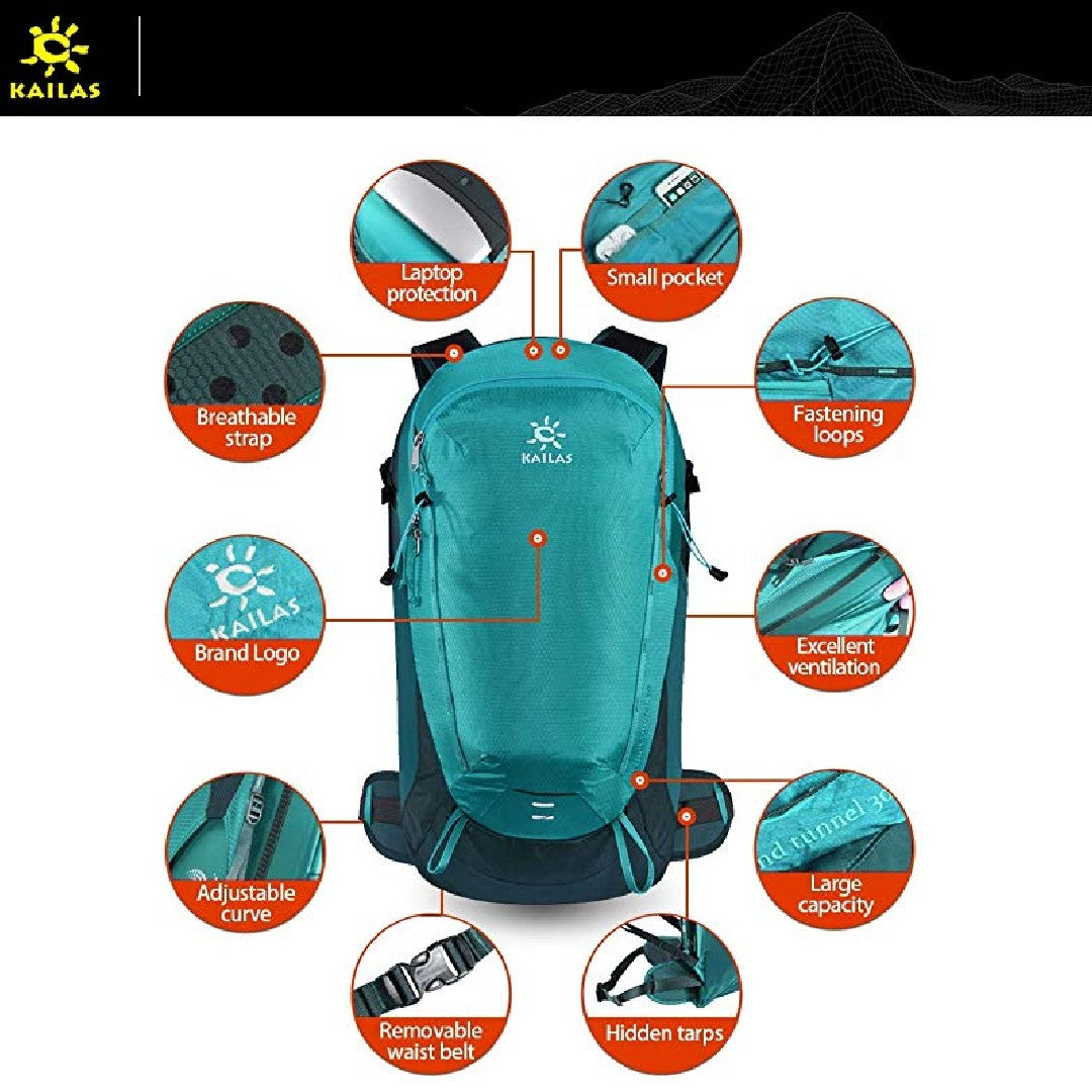 Kailas-Wind Tunnel 30L-Backpacking Pack-Gearaholic.com.sg