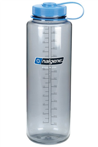 Nalgene-48oz Wide Mouth BPA Free Water Bottle Silo-Water Bottle-Grey-Gearaholic.com.sg